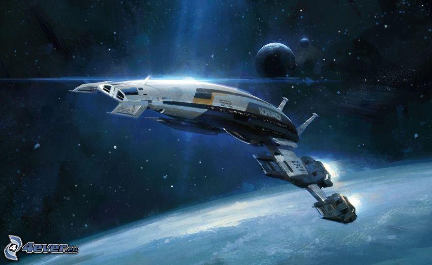 Mass Effect 3, vaisseau spatial
