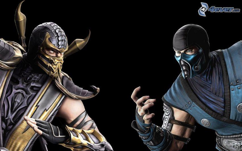 Mortal Kombat, guerriers