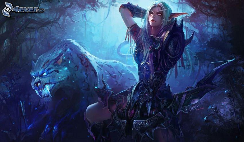World of Warcraft, elfe