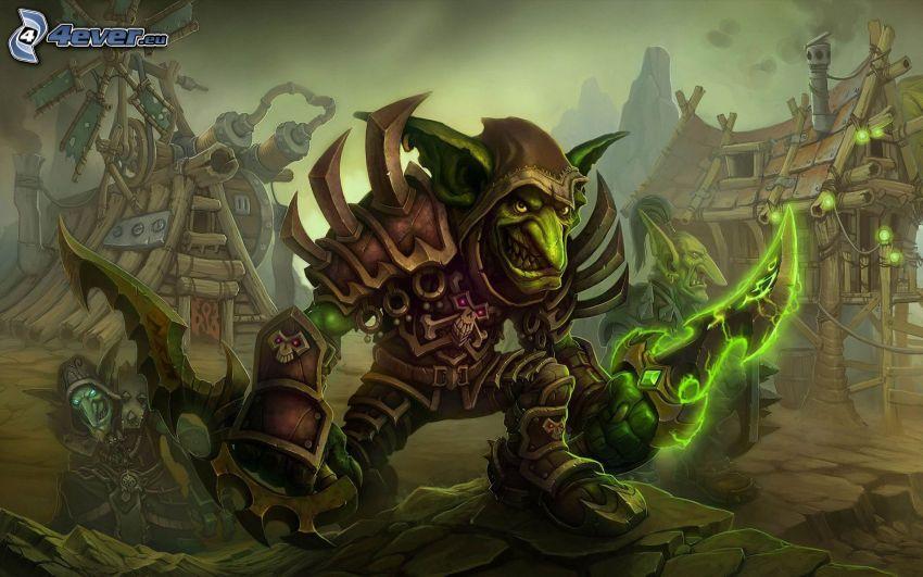 World of Warcraft, monstre