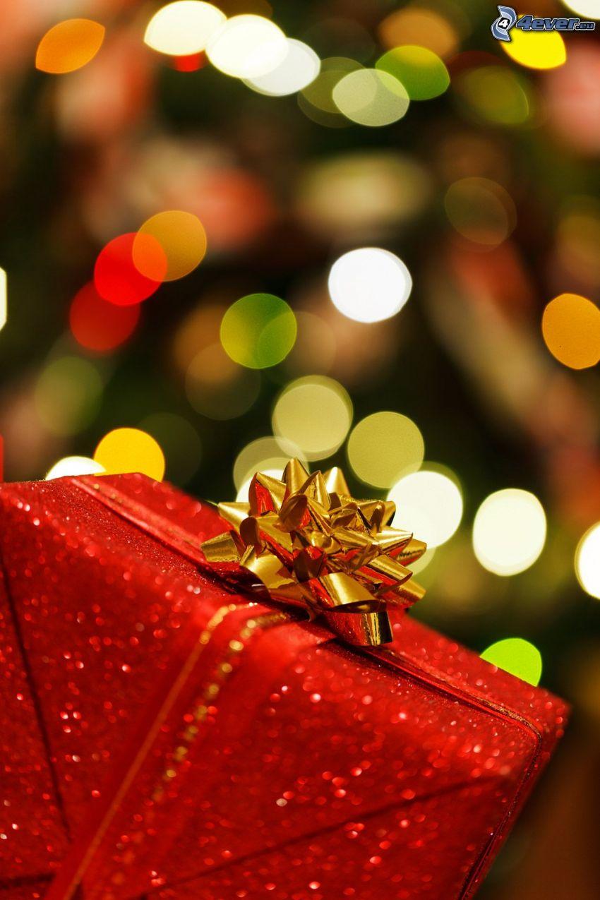 cadeau, ruban, serre-tęte