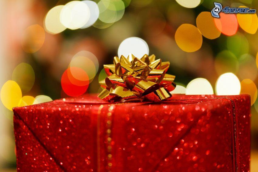 cadeau, serre-tęte