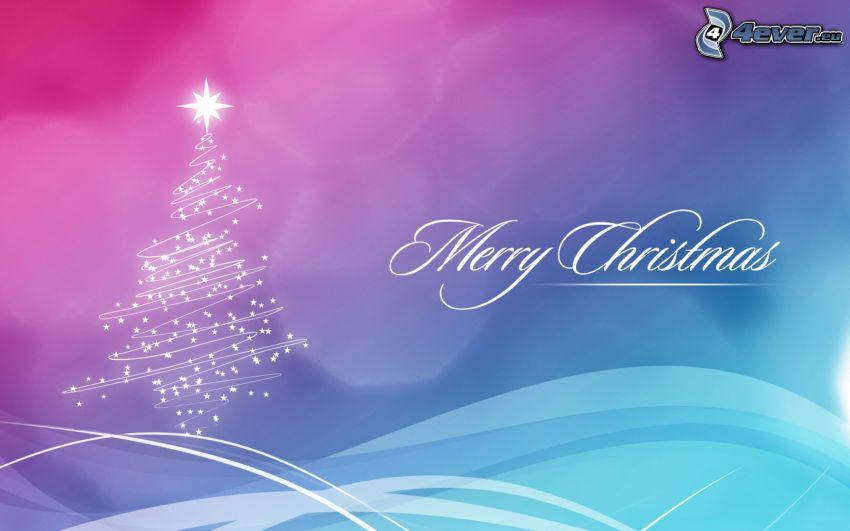 Merry Christmas, arbre de Noël