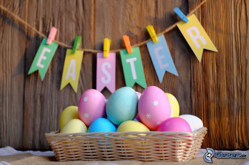 oeufs de pâques, Happy Easter