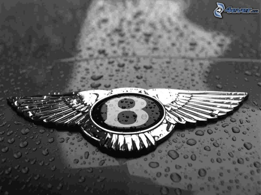 Bentley, gouttes d'eau