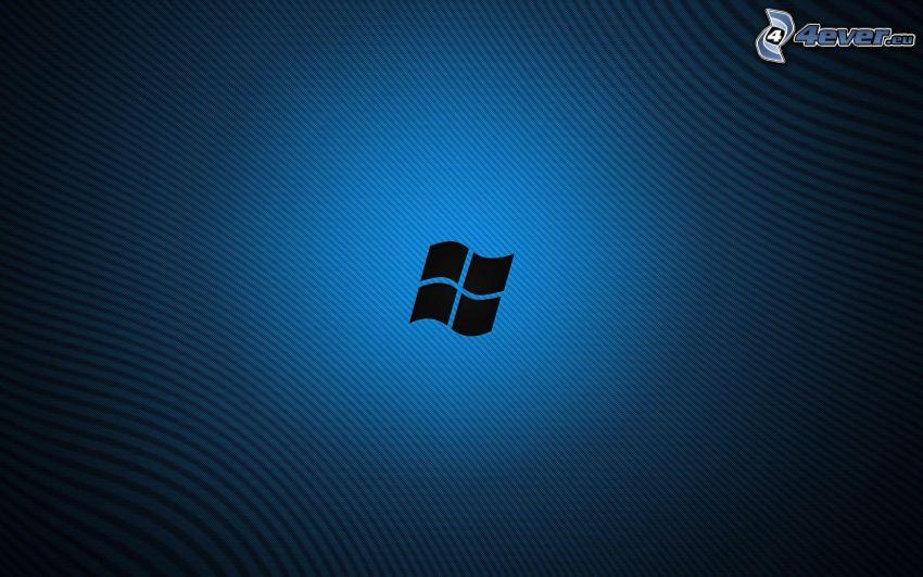 Windows 8, fond bleu