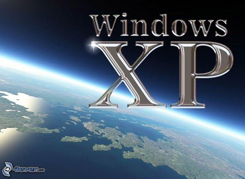 Windows XP, planète Terre