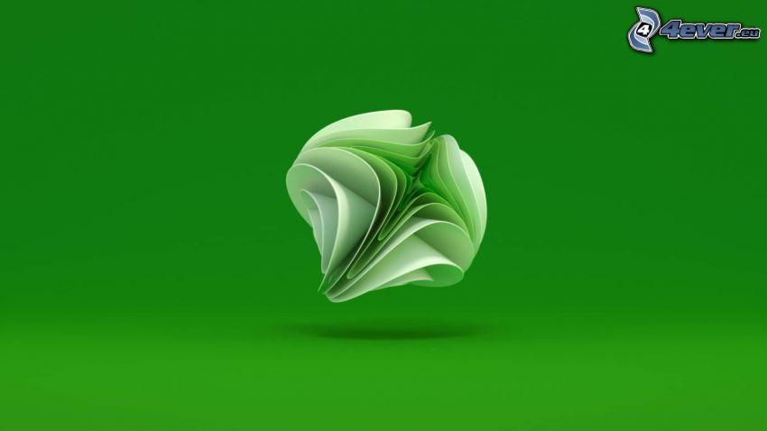 Xbox, fond vert
