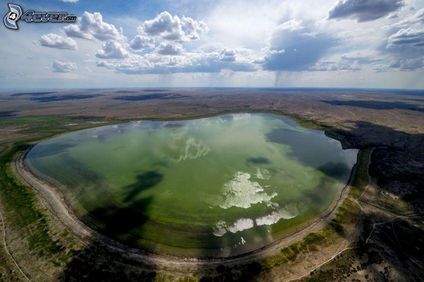 Kolsai Lakes, nuages