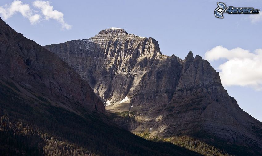 Chief Mountain, montagne rocheuse