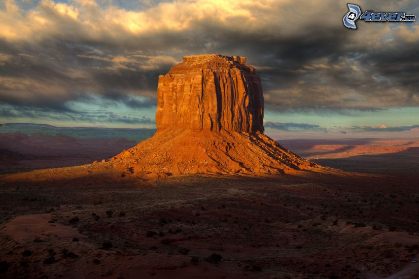 Monument Valley, USA, rocher
