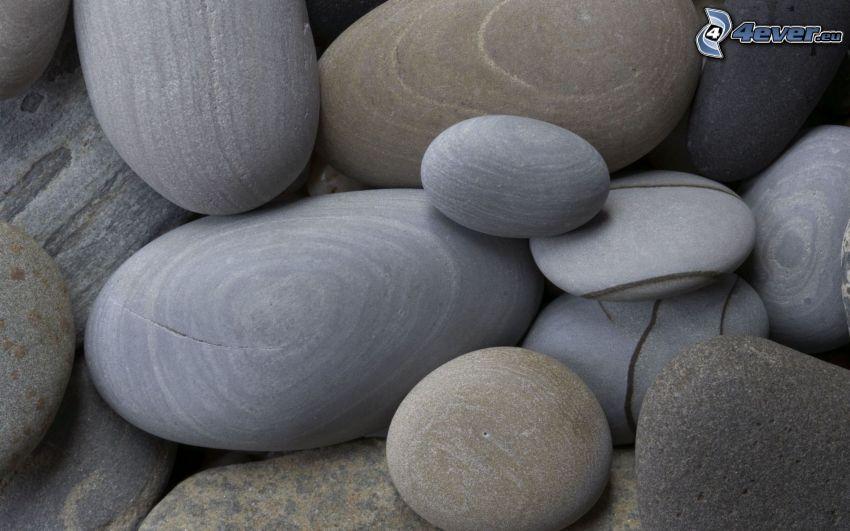 pierres plates
