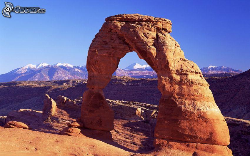 porte de roche, montagnes