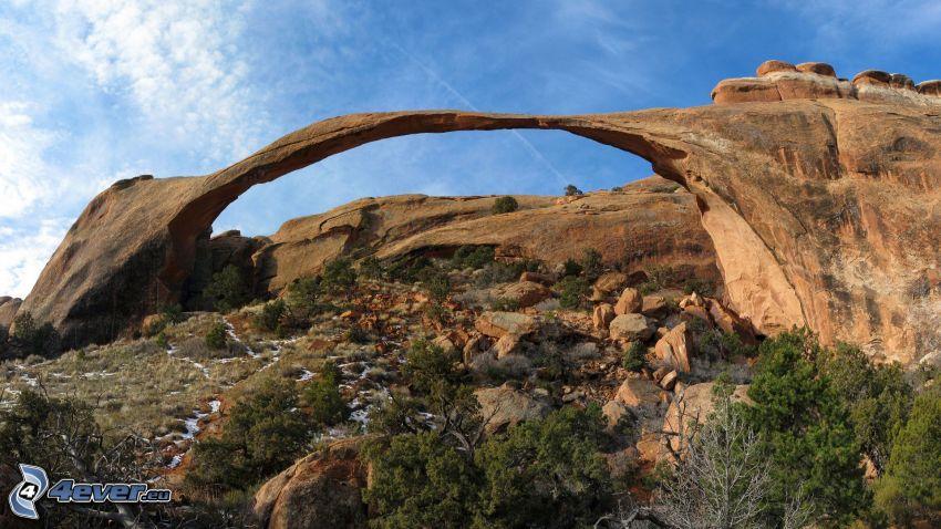 porte de roche, rochers