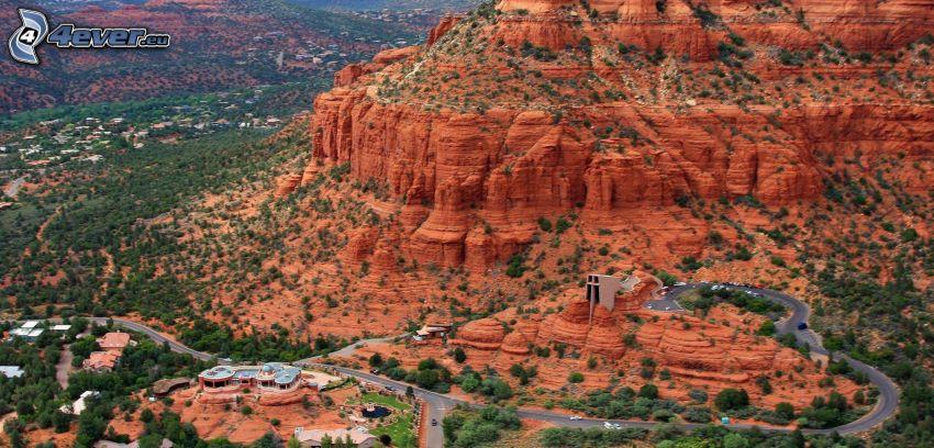Sedona - Arizona, Monument Valley, rochers, route