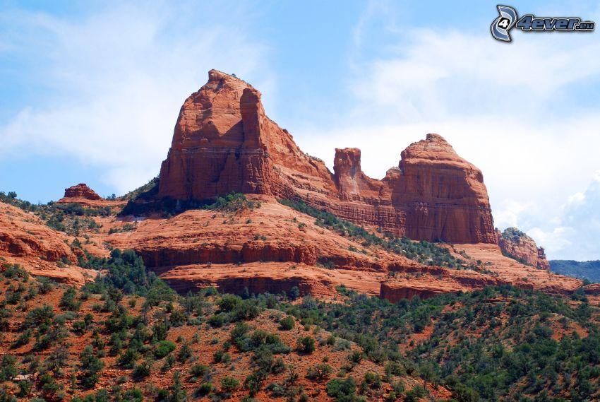 Sedona - Arizona, Monument Valley, rochers