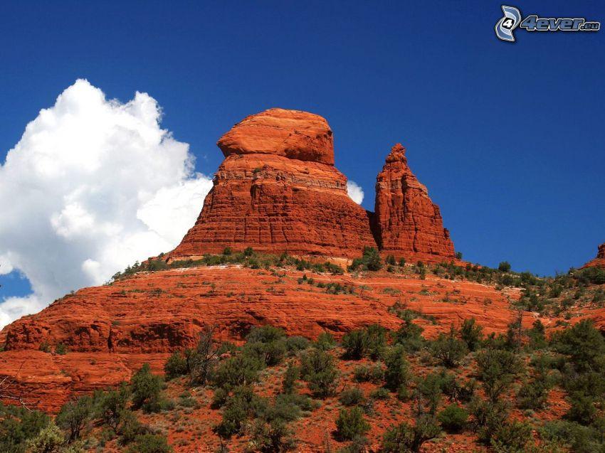 Sedona - Arizona, rochers