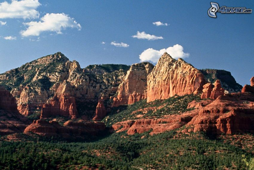 Sedona - Arizona, rochers