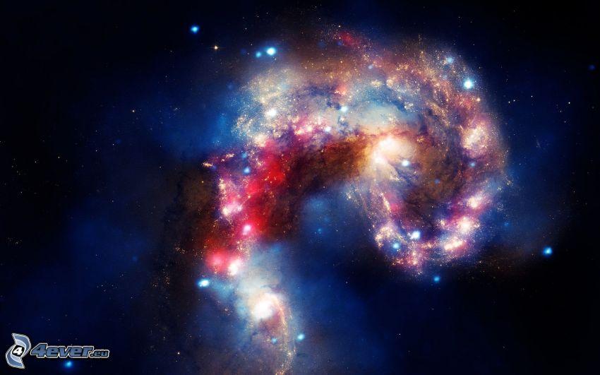 galaxie, étoiles