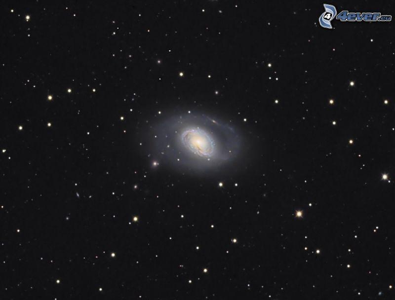 galaxie spirale, étoiles