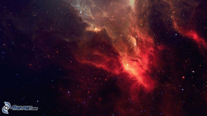 nébuleuse, étoiles