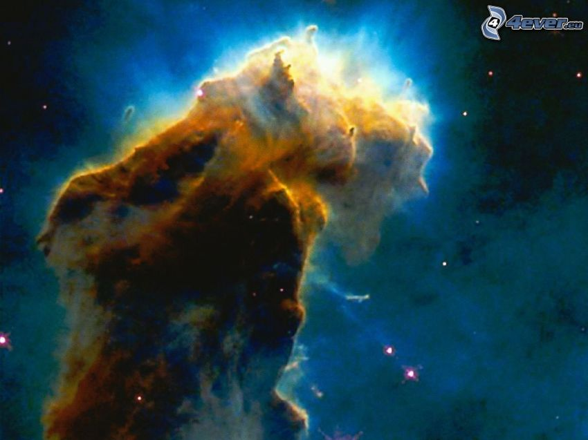 Nébuleuse de l'Aigle M16, univers, étoiles
