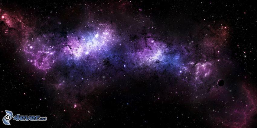 nébuleuses, étoiles