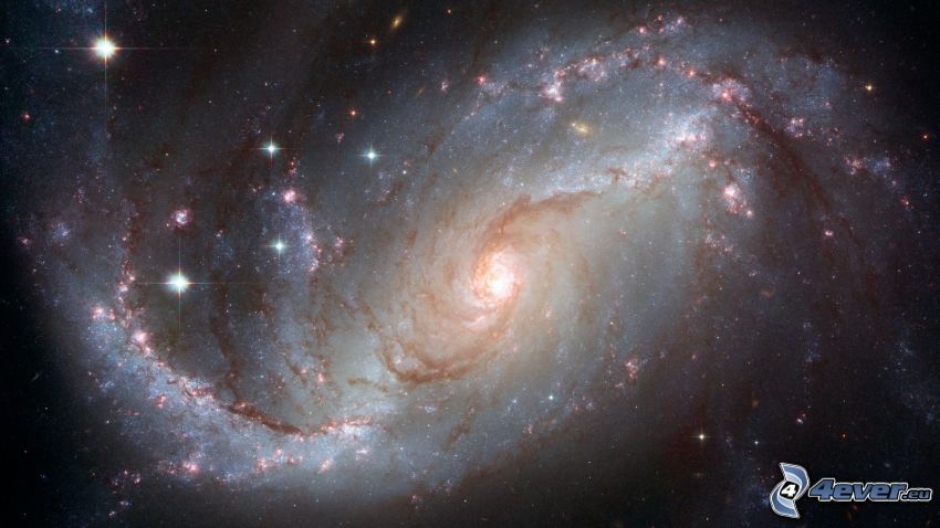 NGC 1672, galaxie, étoiles