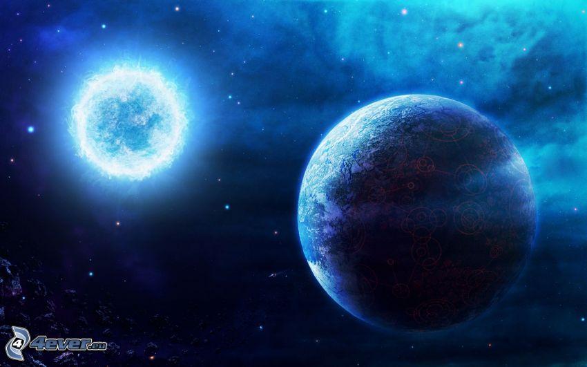 planète, Sirius
