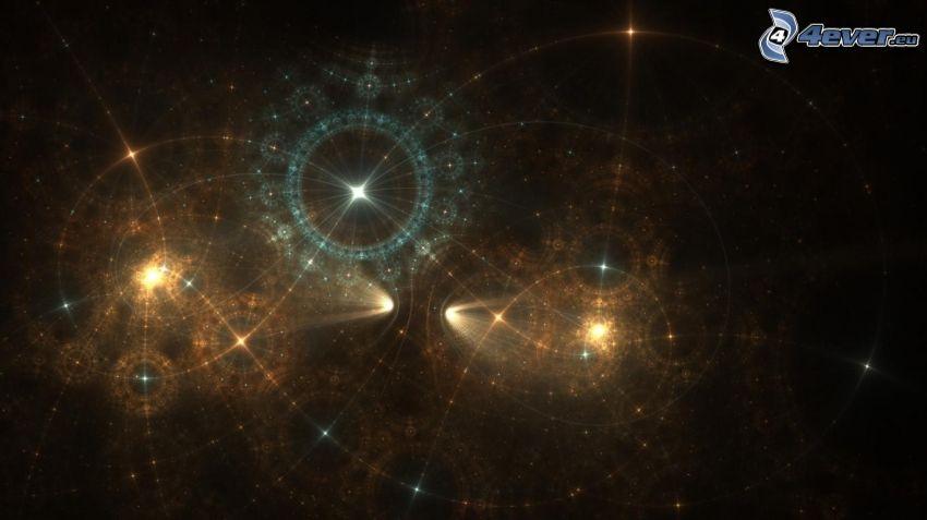 univers, étoiles