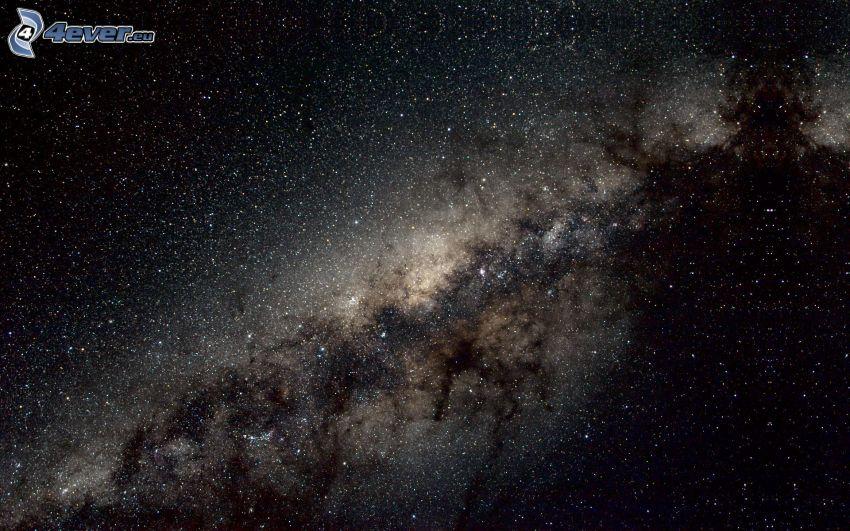 Voie lactée, étoiles