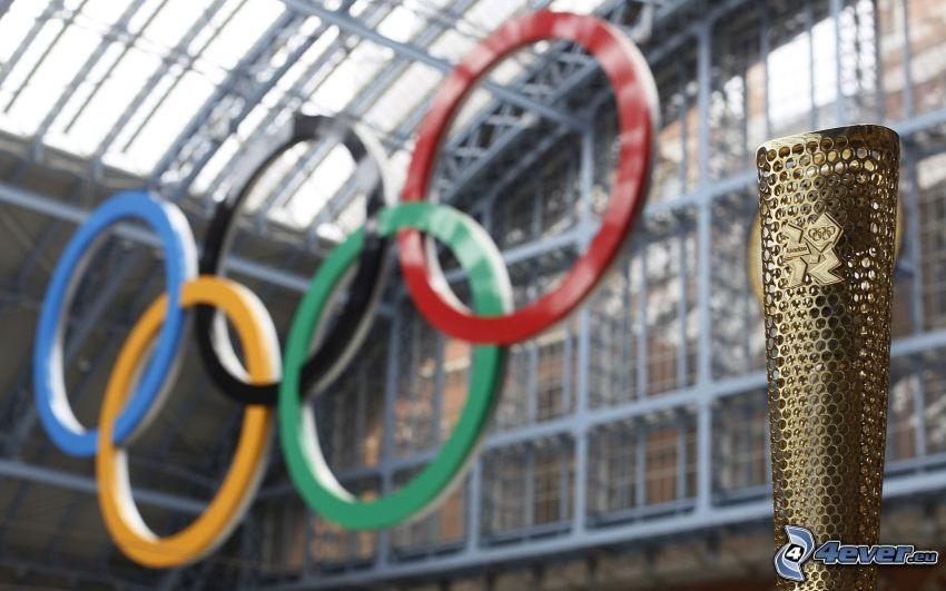 Anneaux olympiques, Jeux olympiques d'été