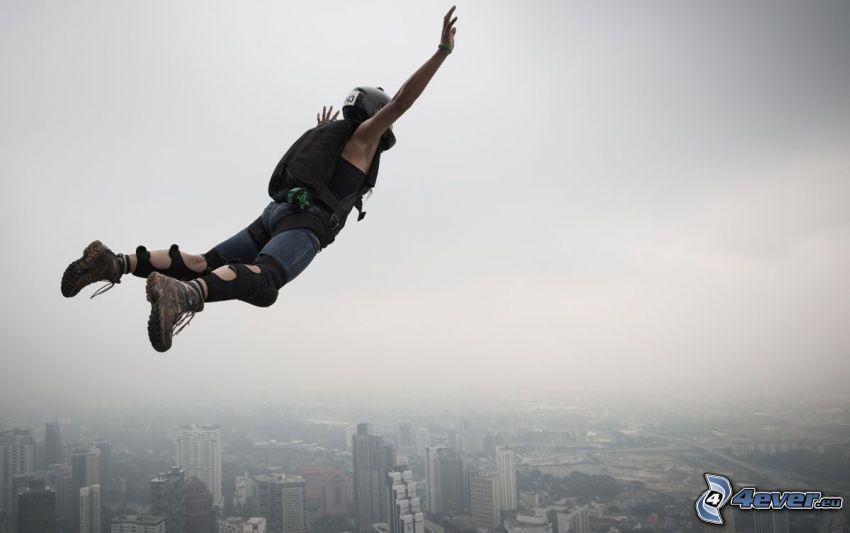 BASE Jump, saut