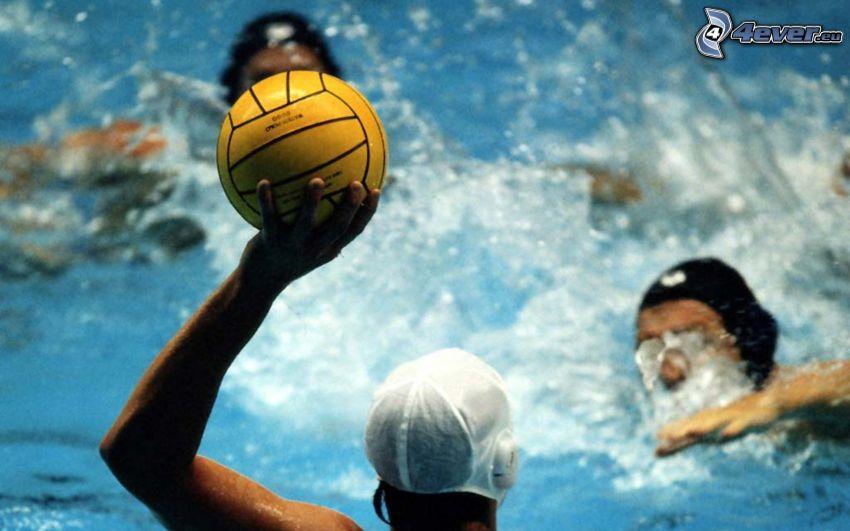 water-polo, balle