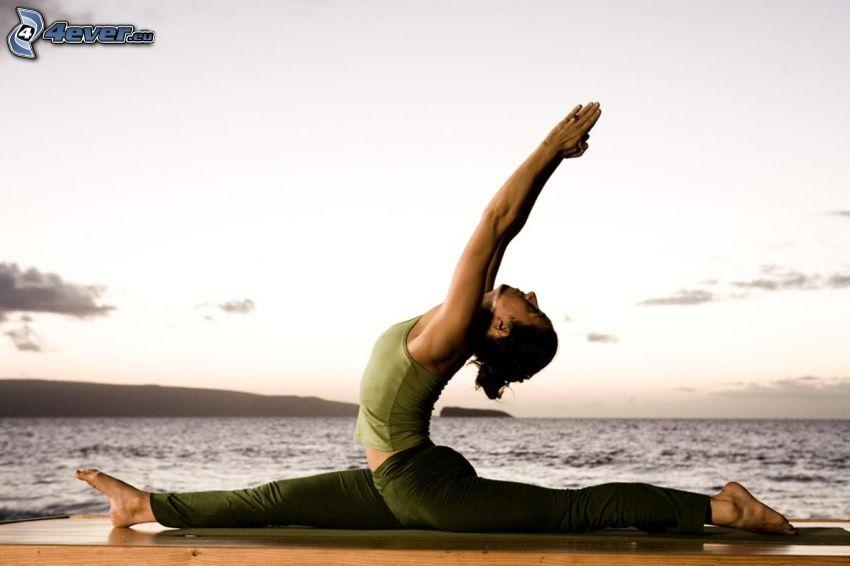 yoga, corde