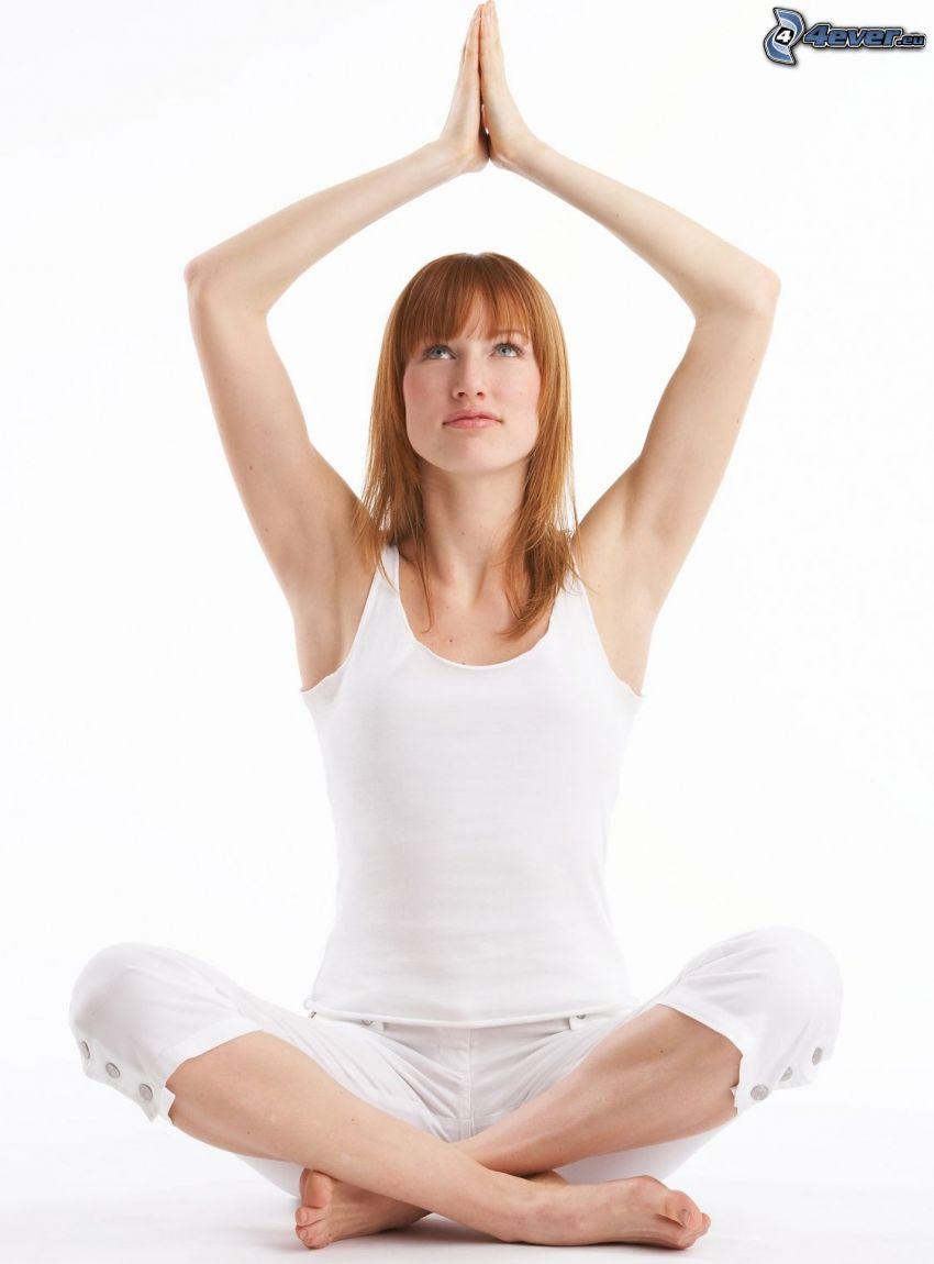 yoga, sit turc