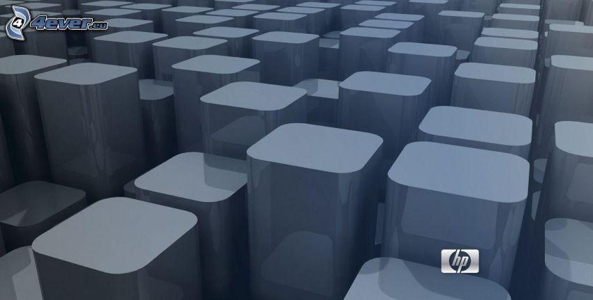 hp, les cubes