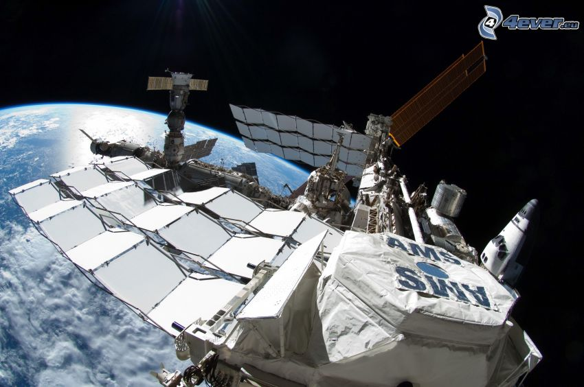 ISS sur la Terre