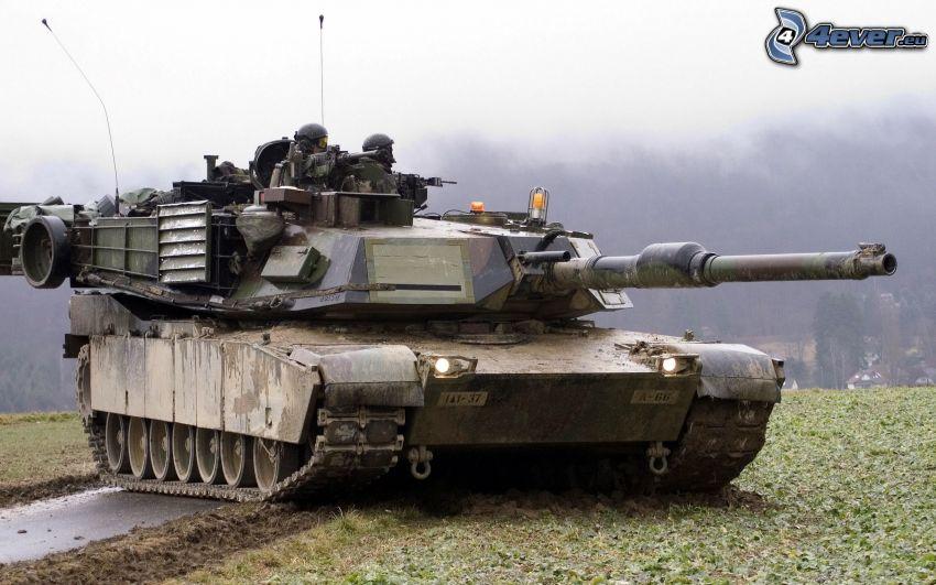M1 Abrams, char