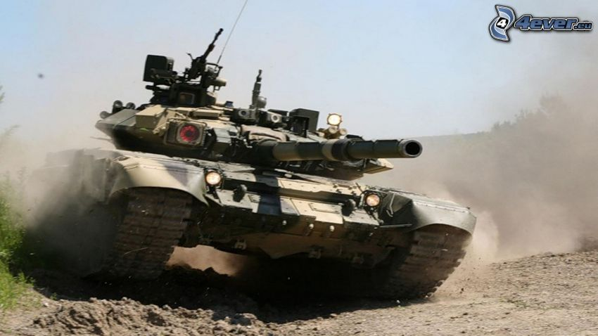 T-90, char
