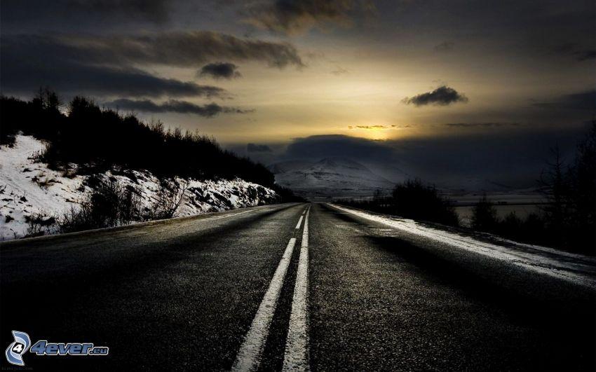 route, montagne