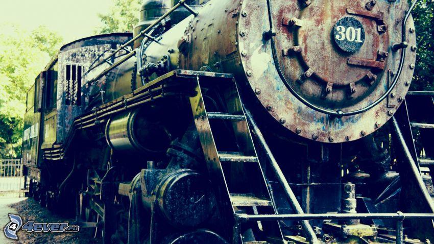 locomotive à vapeur