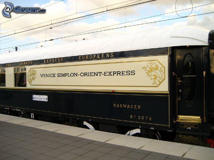 Venice Simplon Orient Express, voiture-restaurant, Pullman