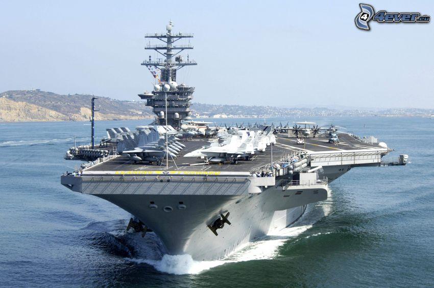 USS Nimitz, porte-avions