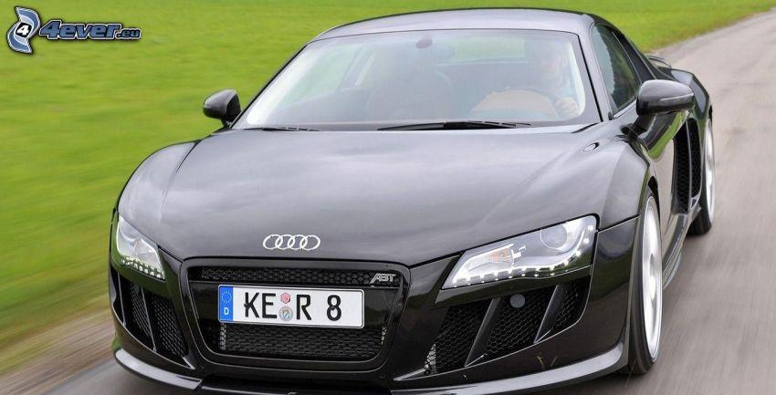 Audi R8, la vitesse