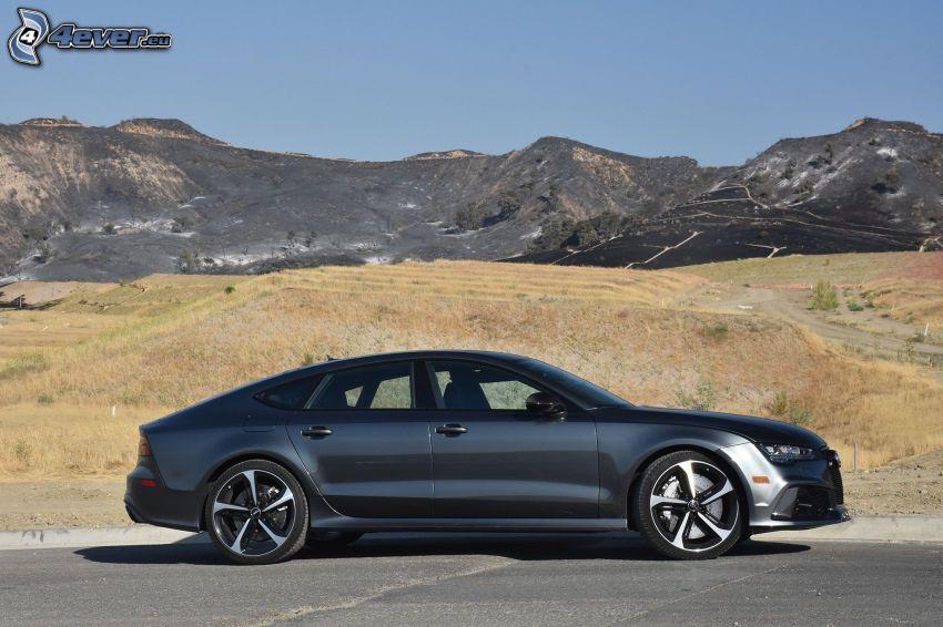 Audi RS7, montagne
