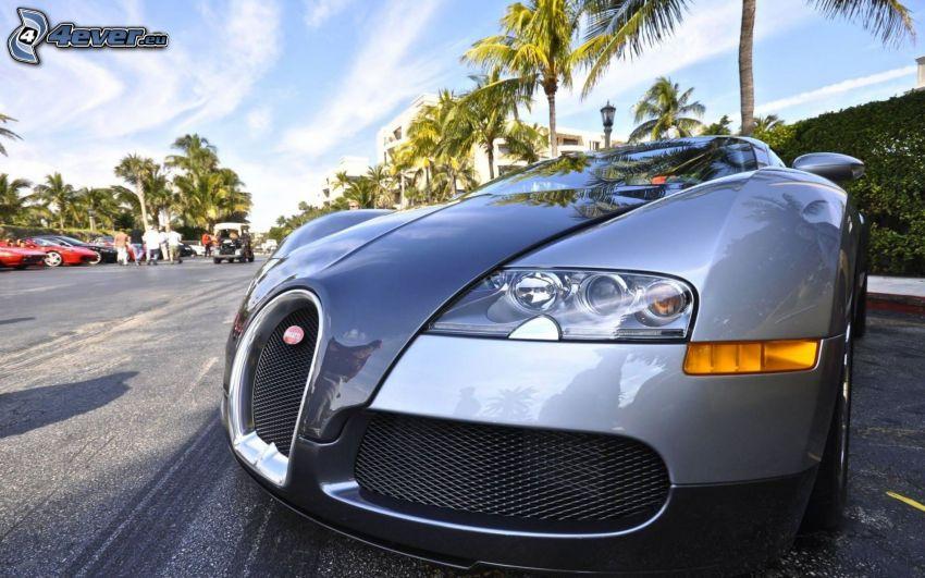 Bugatti Veyron, la calandre, HDR