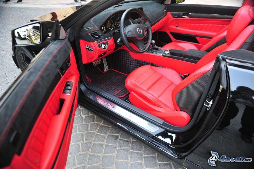 Cabriolet Brabus 800, tableau de bord, porte