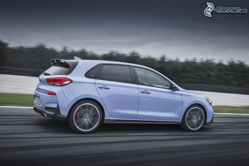 Hyundai i30, la vitesse