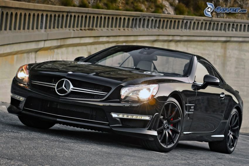 Mercedes SL, garde-corps